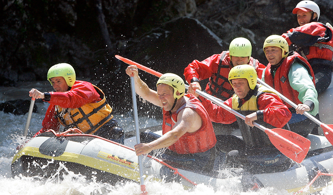 Rafting Tour mit Fun4You für Abendteuerlustige