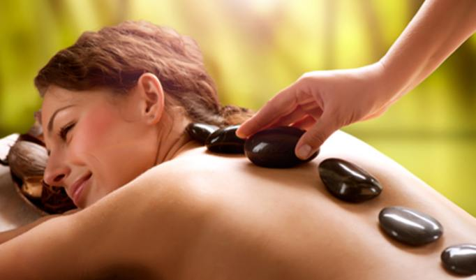 30 Minuten Hot Stone Massage