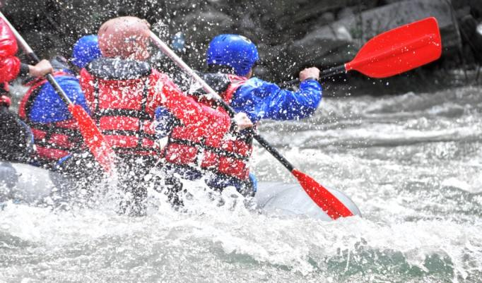 Rafting in Imst